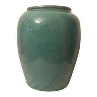 Indoor/Outdoor Celadon Planter