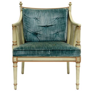 Caned Accent Chair