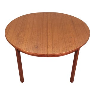 G Plan Danish Modern Teak Dining Table
