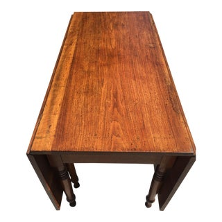 Antique Drop Leaf Gate Leg Table