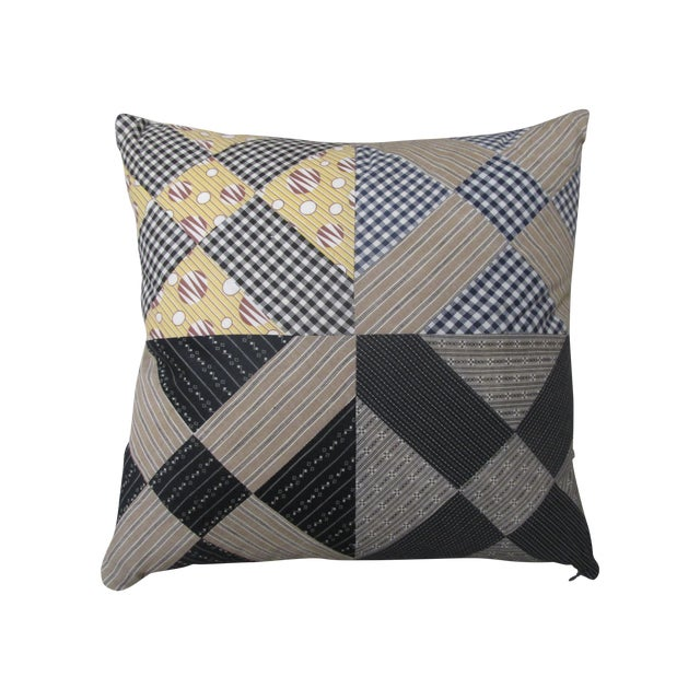 Image of Vintage Patchwork Pillow