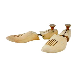 Wooden Cobblers Foot Form