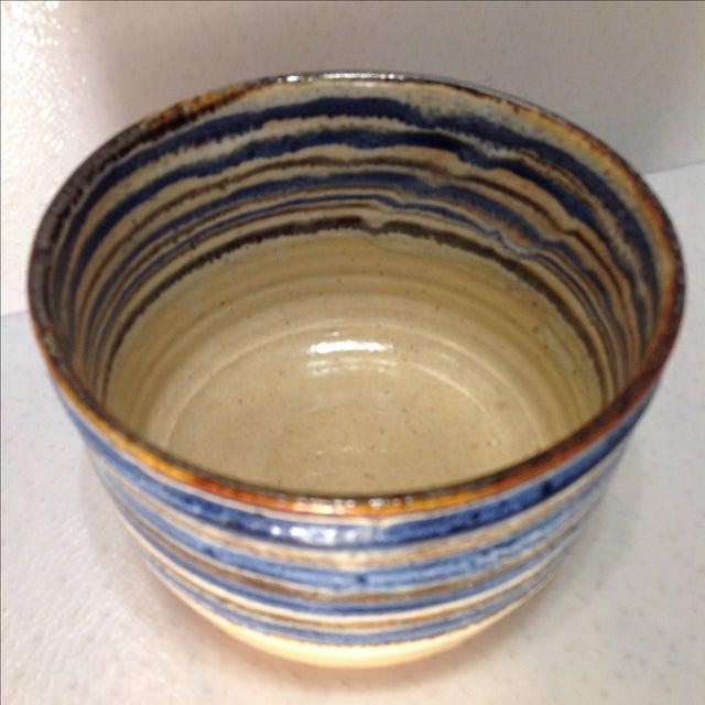 Vintage Handmade Pottery Bowl - Image 3 of 10