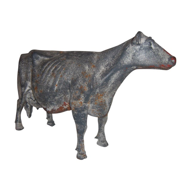 Cast Iron Cow - Image 1 of 11