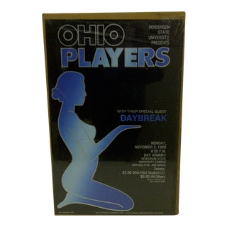 """Ohio Players"" 1980 Concert Poster"