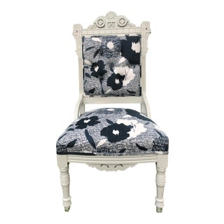 Victorian Robert Allen Upholestered Accent Chair