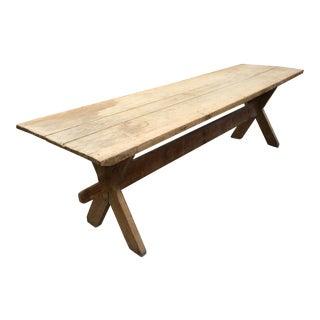 French Beechwood Farmhouse Table