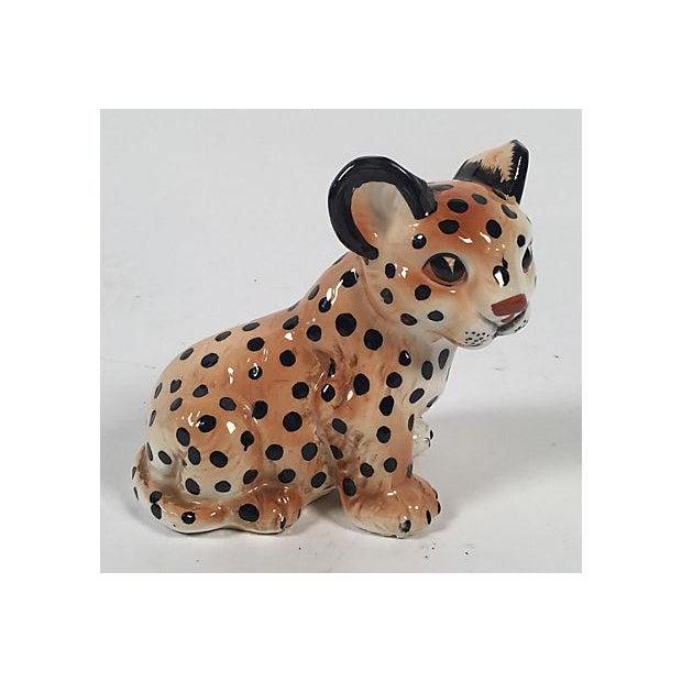Ceramic Leopard Cub - Image 3 of 5