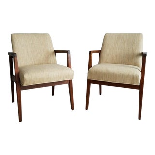 Mid-Century Modern Club Chairs - a Pair