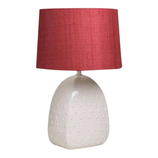 Single Italian Glazed Ceramic Table Lamp, 1960s - Image 1 of 3