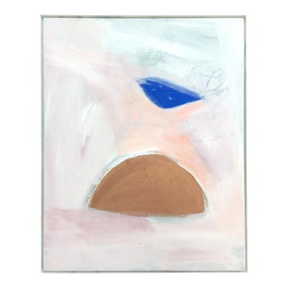 Framed Abstract Expressionist Painting