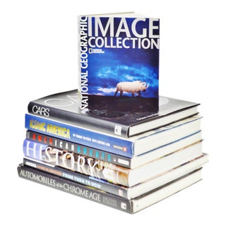 American History Coffee Table Books - Set of 7