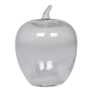 Tiffany & Co. Glass Apple