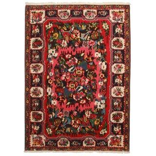 """Vintage Persian Bakhtiari Wool Rug - 7'1"""" x 10'"""