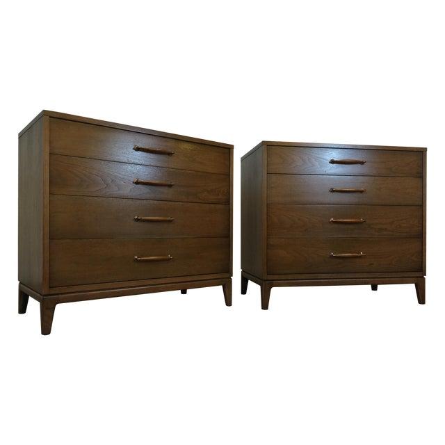 Heritage Henredon Mid Century Dresser Pair - Image 1 of 11