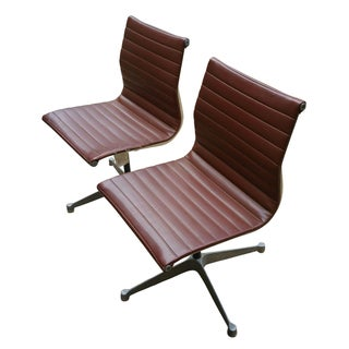 Eames Mid-Century Modern Chairs for Herman Miller - A Pair