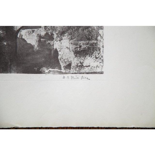 D.R. Peretti Griva Vintage Bromoil Transfer - Image 3 of 5
