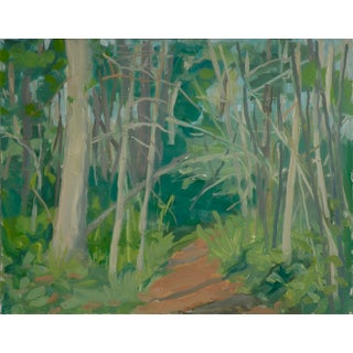 Path in the Woods Original Landscape Painting