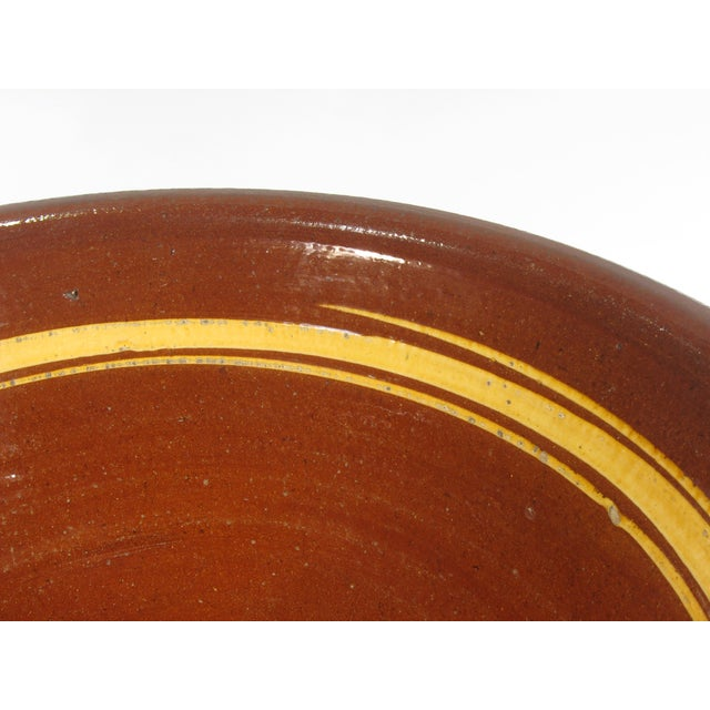 Image of French Earthenware Brown Glazed Bowl
