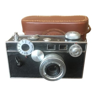 Argus 50mm Camera With Leather Case