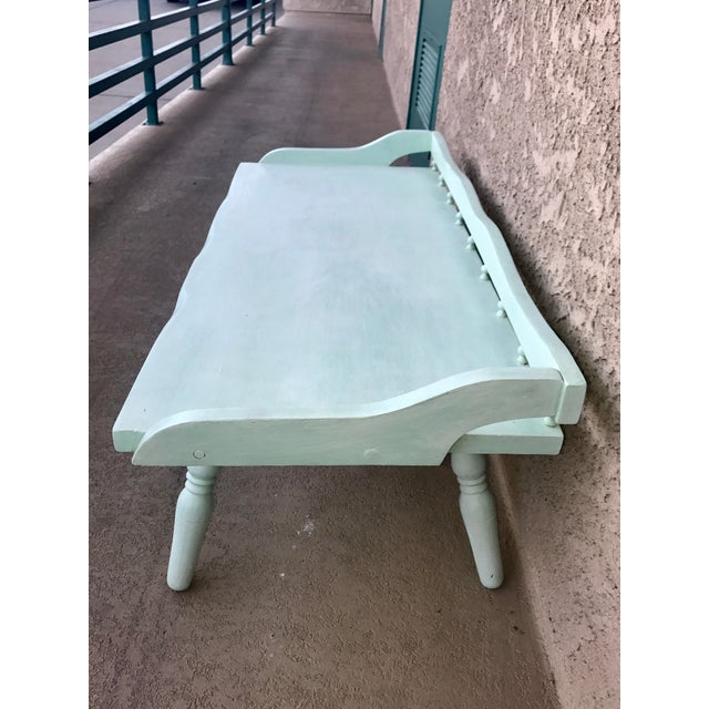 Shabby Chic Painted Farmhouse Style Coffee Table - Image 6 of 10