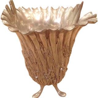 Caster Cooper Pewter Vase