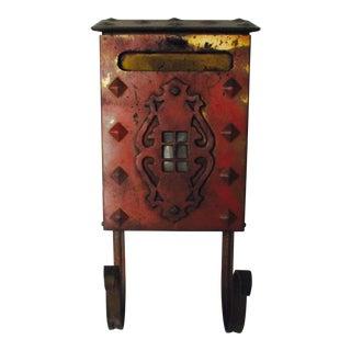Mission Craftsman Style Solid Brass Mailbox