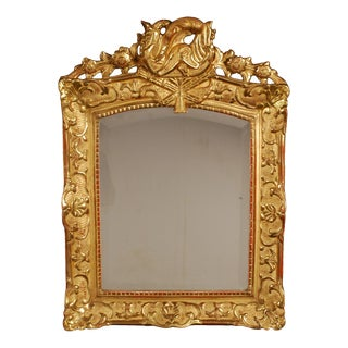 Superb French Regency Period Giltwood Wall Mirror