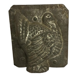 Antique Decorative Chocolate Turkey Mold