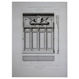 Cesar Daly 19th Century Architectural Drawing I