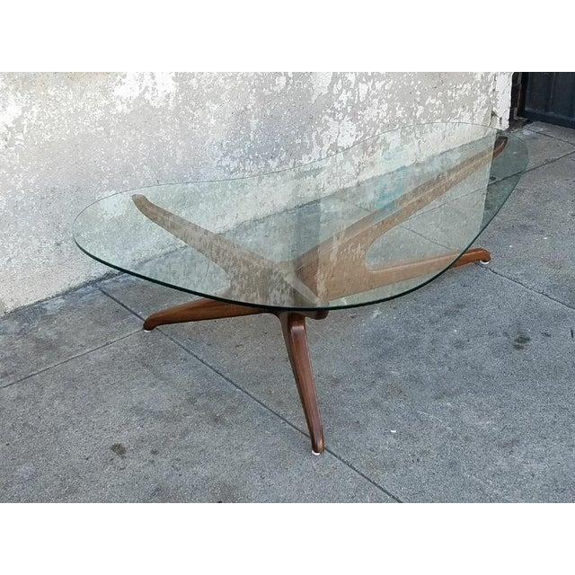 Mid-Century Style Boomerang Coffee Table