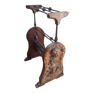 Custom Antique Quilt Rack