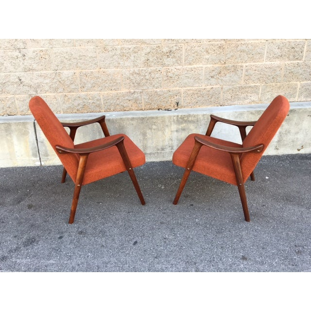Danish Mid-Century Chairs by Igmar Relling - Pair - Image 4 of 5