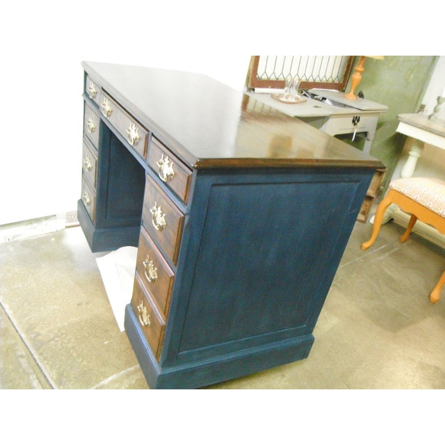 Antique Painted Federal Style Desk - Image 3 of 11