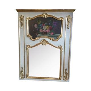 Parisian Trumeau Mirror