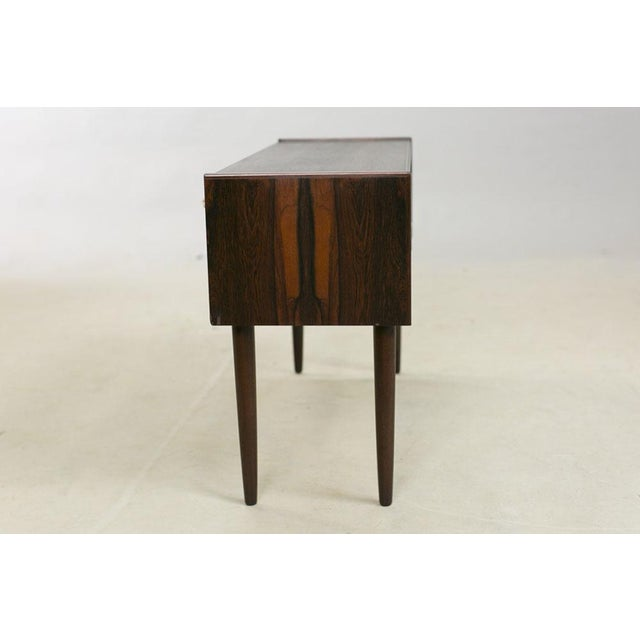 Danish Rosewood Night Stands by Kai Kristiansen - A Pair - Image 4 of 8
