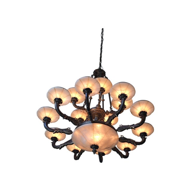Turin Family Bowl Chandelier - Image 1 of 5
