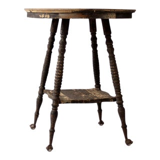 Victorian Claw Foot Side Table