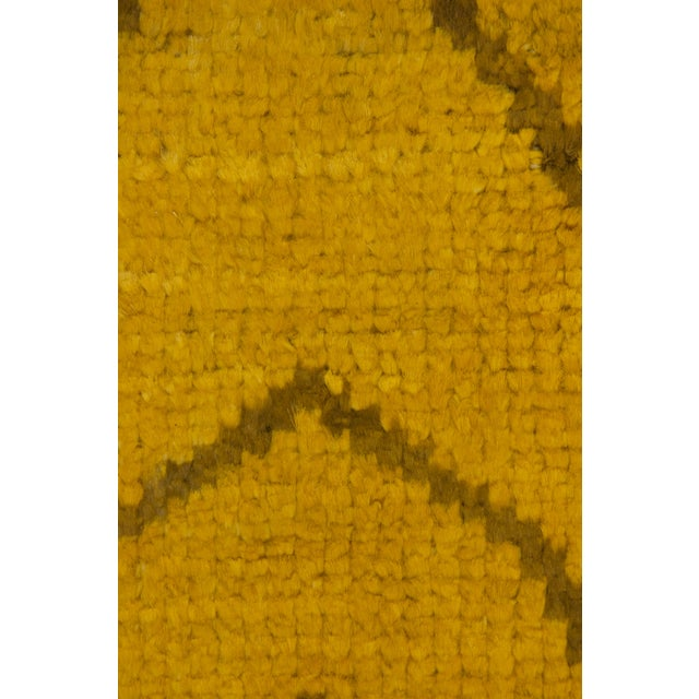 "Moroccan Hand Knotted Area Rug - 5'2"" X 7'10"" - Image 3 of 3"
