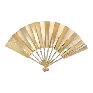 Vintage Brass Fan Tray