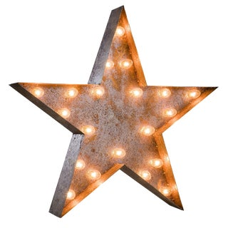Vintage Marquee Star Light