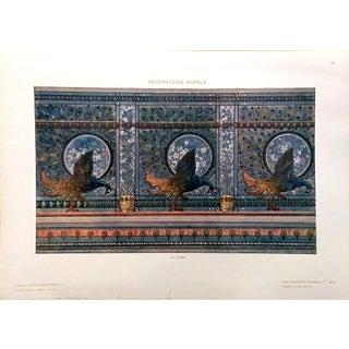 1910 Modelli d'Arte Decorativa G. Leone Lithograph