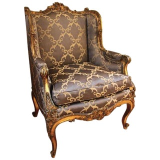 Rococo Style Bergère Chair