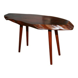 Roy Sheldon Studio Craft Free Edge Cocktail Table