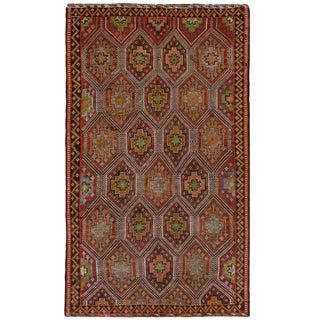 Vintage Turkish Kilim | 5'3 x 8'11 Flatweave