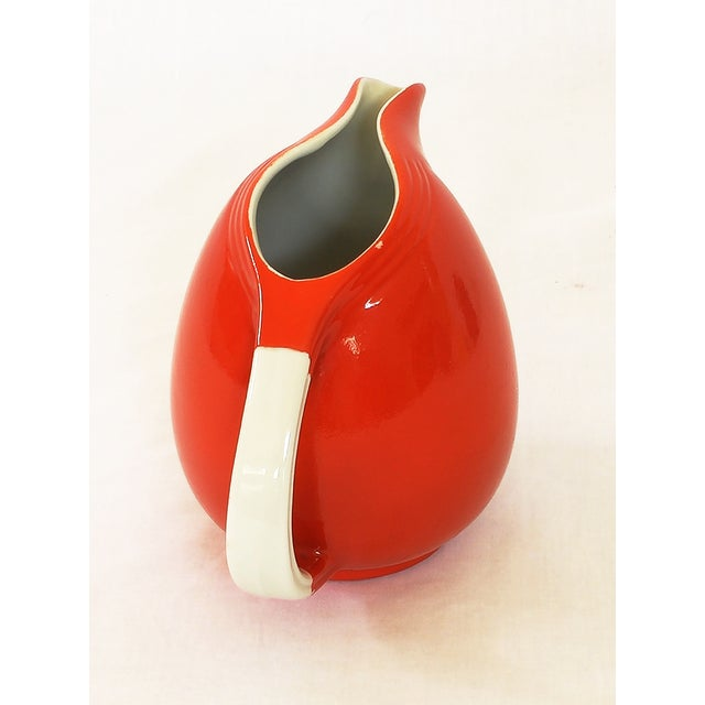 Image of Vintage Hall's Superior Quality Red Pitcher