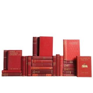 Vintage Novel Collection: Crimson & Gilt Books , S/25