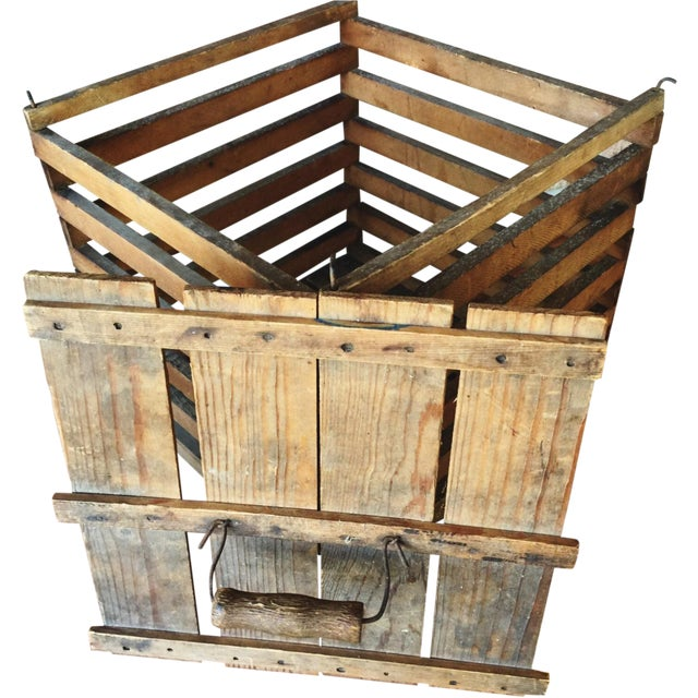 Antique Egg Carrier Crate - Image 1 of 6