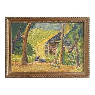 1970s Impressionist Watercolor
