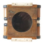Image of Vintage Wood Wall Mount Hanging Display Case
